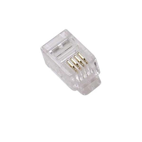 """AMP726 Conector RJ11 macho Cat.3 2p 6p4c 6u"""""""