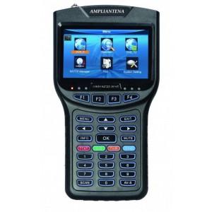 AMP507 Medidor de campo combo TVT Digital + Sat + FO + analizador de espectro con pantalla