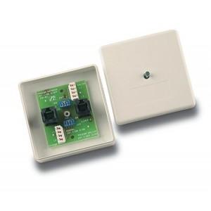 AMP086 PTR distribuidor telefónico 2 entradas/6 salidas