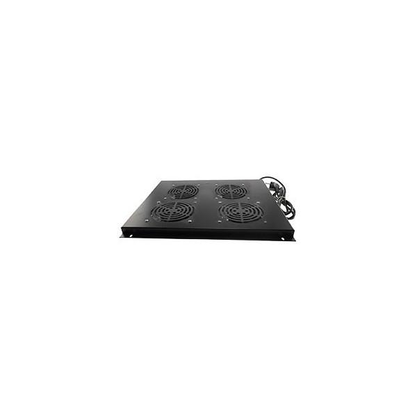 """AMP642 Conjunto 4 ventiladores rack 19"""" techo armario 1000 (Armario rack suelo)"""