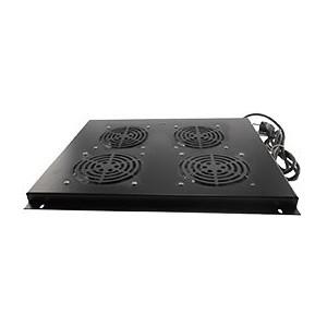 """AMP638 Conjunto 2 ventiladores rack 19"""" techo armario 600 (Armario rack suelo)"""