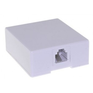 AMP700 Surface box with 1 port RJ45