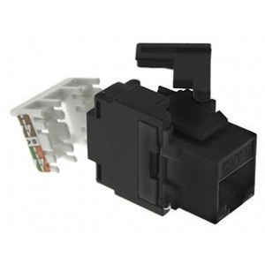 AMP752 Female RJ45 Connector CAT6 180º UTP