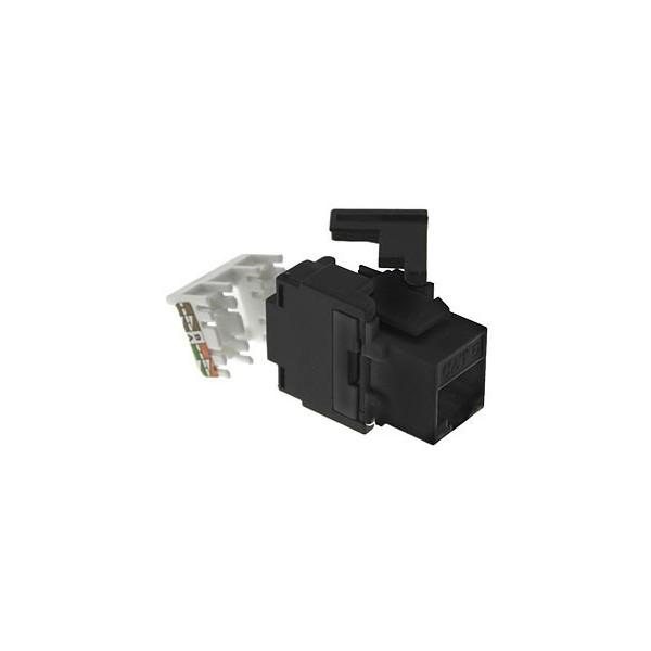 "AMP752 Conector RJ45 hembra UTP Cat.6 blanco 180º 6"" sin herramienta"