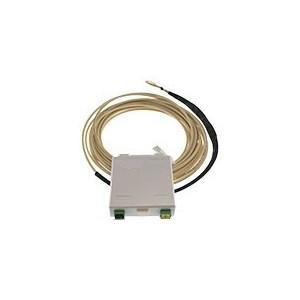 AMP836 Conjunto latiguillo dúplex reforzado para entubar 15 metros con caja terminal + 2 adaptadores SC/SC APC