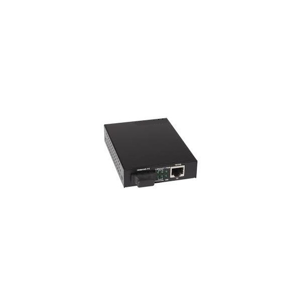 AMP896 Conversor RJ45/FO 10/100MM conector SC 1310nm máximo 20Km