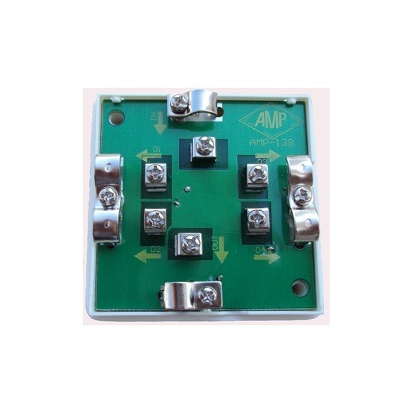 Splitters, Taps-off and TV wall socket (47-862 MHz)