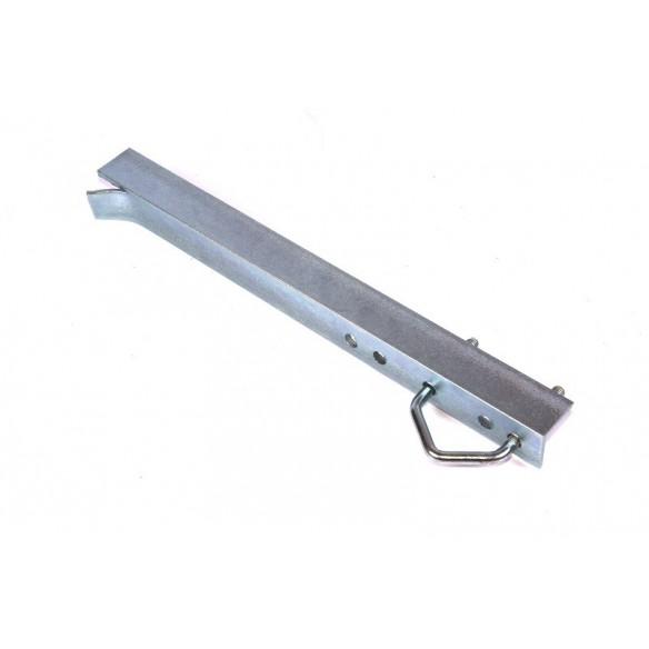 Bracket for embedding of 30x30x3mm