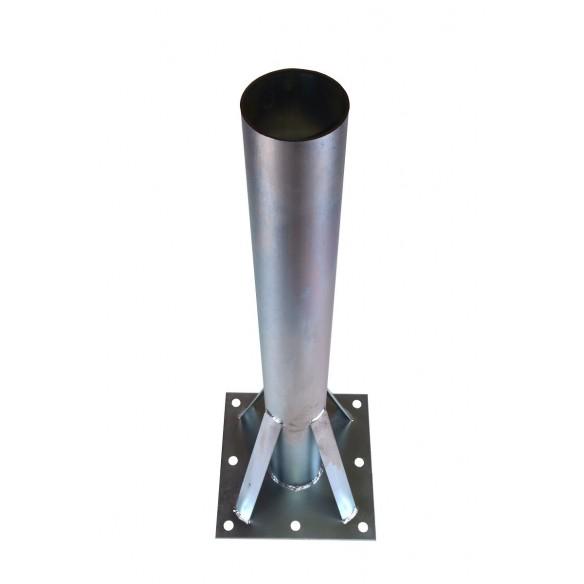 Floor-mounted column