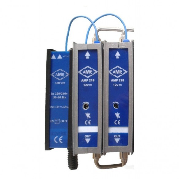 Filter with automatic gain control 12Vcc