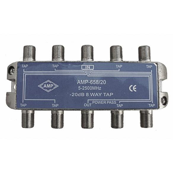 """Derivadores blindados 5-2500 MHz conexión lateral """"F"""""""